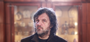 Serbian director and musician Emir Kusturica visits Mother See of Holy Etchmiadzin