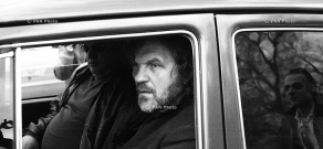 Serbian director and musician Emir Kusturica in Yerevan
