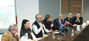 Press conference on the concert of Emir Kusturica & The No Smoking Orchestra