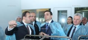 RA Minister of Health Armen Muradyan visits PharmaTech CJSC