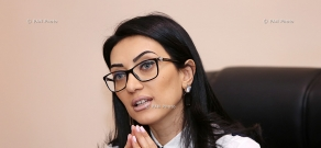 Year-end press conference of RA Minister of Justice Arpine Hovhannisyan