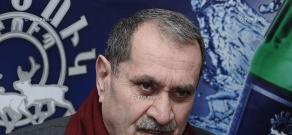 Press conference of Azat Arshakyan and Gurgen Yeghiazaryan