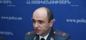 Press conference of Arman Chilingaryan, head of the Legal Department of the RA Traffic Police