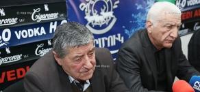 Press conference of Lernik Alexanyan and Arshak Sadoyan