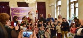 Syrian-Armenian community celebrates New Year and Christmas