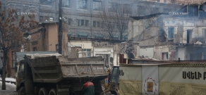 Aram street's demolished building protected by society