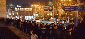 March of 'New Armenia' Public Salvation Front