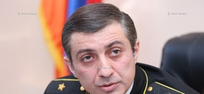 Press conference of Chief Compulsory Enforcement Officer of the RA Mihran Poghosyan