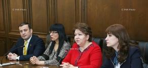 Пресс-конференция делегации НС РА в ПАСЕ