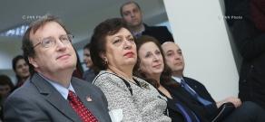 Церемония открытия центра по проблемами сирийских армян, имеющих умственную и физическую инвалидность «Аревик-Армения»