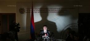 Пресс-конференция Министра Экономики Армении Карена Чшмаритяна