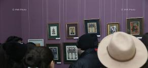 Открытие первой выставки-конкурса, освященного празднику Святого Саркиса