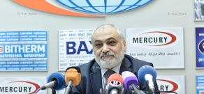 Пресс-конференция директора Института востоковедения НАН РА Рубена Сафрастяна