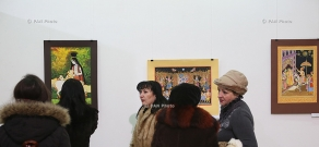 Opening of Andranik Asatryan's exhibition entitled