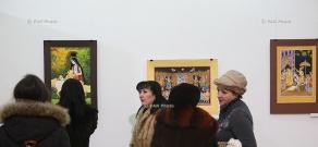 Открытие выставки Андраника Асатряна