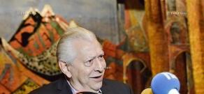 Press conference of RA People's Artist, chief choreographer Vilen Galstyan