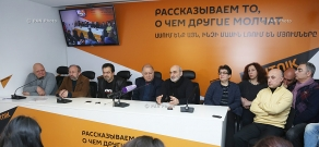 Press conference on 'Let's preserve the historical and cultural monuments of Yerevan'