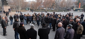 """Conference-discussion of """"New Armenia"""" Public Salvation Front"""