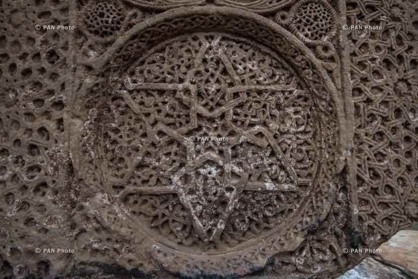 Armenian landscapes: Noravank Monastery (XIII-XIV century),  Vayots Dzor Province
