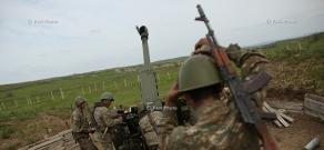 Southeastern section of the Nagorno Karabakh-Azerbaijan contact line