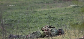 Bodies of Azerbaijani special troops who participated in military actions in the direction of the village of Talish in Artsakh's northeast