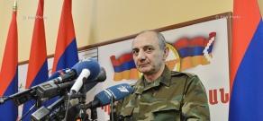 Press conference of of Artsakh (Nagarno-Karabakh) Republic President Bako Sahakyan