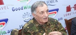 Press conference of Major General Arkady Ter-Tadevosyan (Commandos)