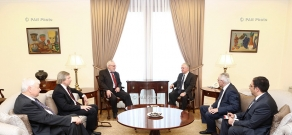 Meeting of OSCE Minsk Group co-chairs with RA Minister of Foreign Affairs Edward Nalbandyan