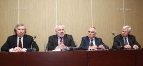Press conference of OSCE Minsk Group co-chairs