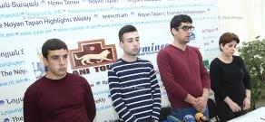 Press conference of Sinjar Yezidi National Union President Boris Murazi