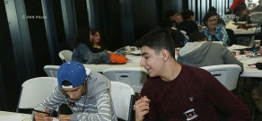24 Hour Comics Marathon at Yerevan's Tumo