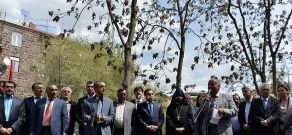Yazidi Genocide Memorial Unveiled in Yerevan