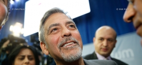 George Clooney attends 2nd Global Forum 'Against the Crime of Genocide'