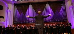 Concert of Estonian National Male Choir at Yerevan's Aram Khachaturian Concert Hall