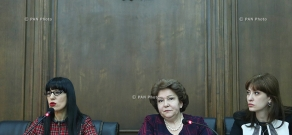 Press Conference of the RA NA Delegation to PACE