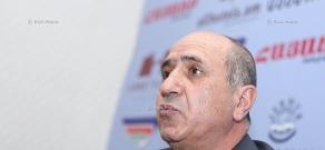 Press conference of the Advisor of NKR permanent representation in Armenia Garnik Isagulyan
