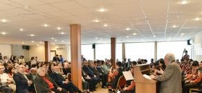 The annual award ceremony of the Tekeyan Cultural Union