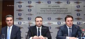 Armenia Government Award for Achievements in the Field of Quality of Products and Services for 2016