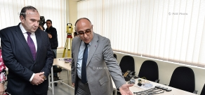 Four new research laboratories open at Armenian State Pedagogical University after Khachatur Abovyan