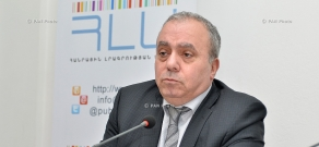 Press conference of Hrant Bagratyan, member of Armenian National Congress (ANC) parliamentary faction