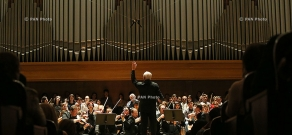Concert of Vladimir Spivakov and Moscow Virtuosi chamber orchestra