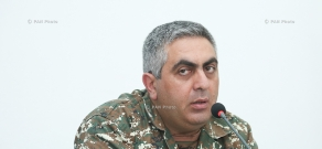 Press conference of Defense Minister's Press Secretary Artsrun Hovhannisyan