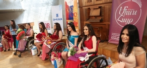 'Miss Hayk 2016' beauty contest of disabled women