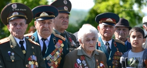 Celebrations, dedicated to the 71th anniversary of victory in WWII