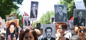 'Immortal Regiment' first march in Yerevan dedicated to WW2 heroes