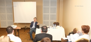 The training on Profiling, was conducted by leading international business-trainer Aleksey Filatov in Yerevan