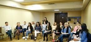 Leading international business-trainers Irina & Egor Karopa conducted а training on Enneagram in Yerevan