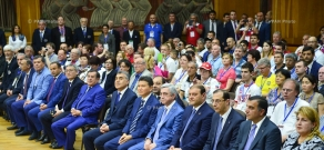 Opening ceremony of the World Individual Deaf Chess Championship and inauguration of the Shengavit Chess School for Children