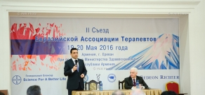 Second conference of Eurasian Association of Therapists kicks off in Yerevan