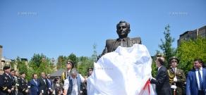 В Ереване открыли памятник Герою Советского Союза, маршалу Амазаспу Бабаджаняну